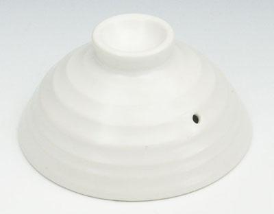 日本製もっちもち炊飯土鍋の外蓋 中蓋が部品買いできる 豊富な品 炊飯鍋の外蓋 16cm×8cm 35%OFF 3合もっちもち炊飯土鍋用 白