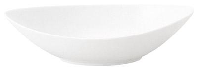 27cm マーレ パスタ & カレー カヌーベーカー 真っ白な大人スタイルのフルコース & アラカルト用食器日本製スパゲッティ・シチュー・スープカレー・リゾット・冷製麺に
