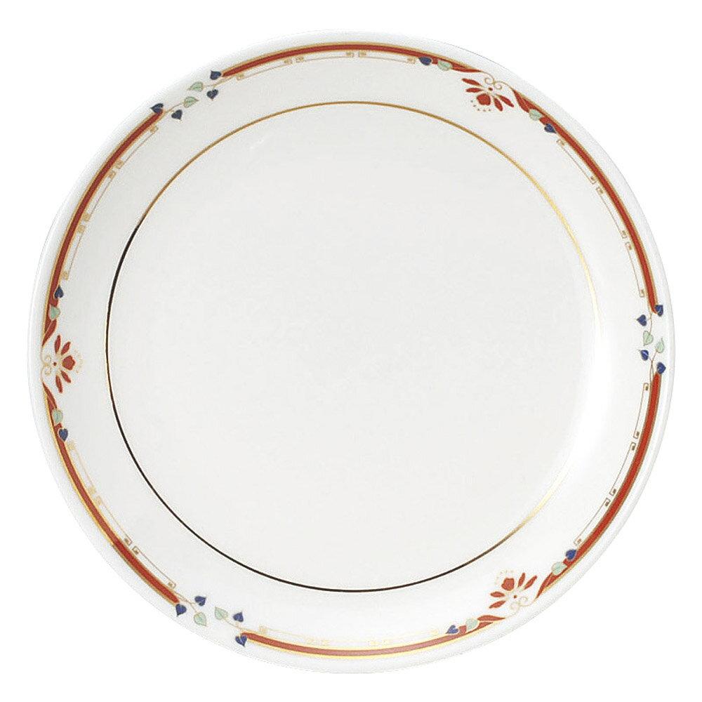 紅華妃 31cm 宴会用 12インチ 大皿(乳白色のsilky bone製) 中華食器