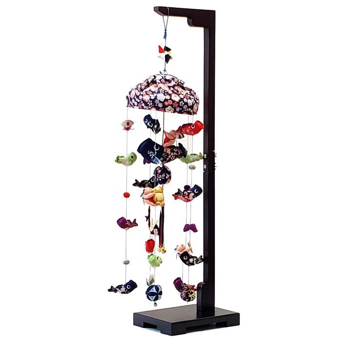 室内鯉のぼり つるし飾り 美工 鯉いっぱい 中 五月人形 端午の節句 鯉のぼり 室内