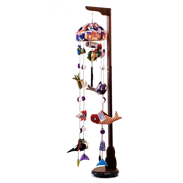 室内鯉のぼり つるし飾り ひなせい 端午のつるし飾り 若竹 中 五月人形 端午の節句 鯉のぼり 室内
