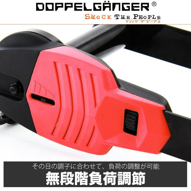 DOPPELGANGER コンパクトローラースタンド ライト DTM127-BR | ハブボルト&クイックリリース固定式 | ドッペルギャンガー