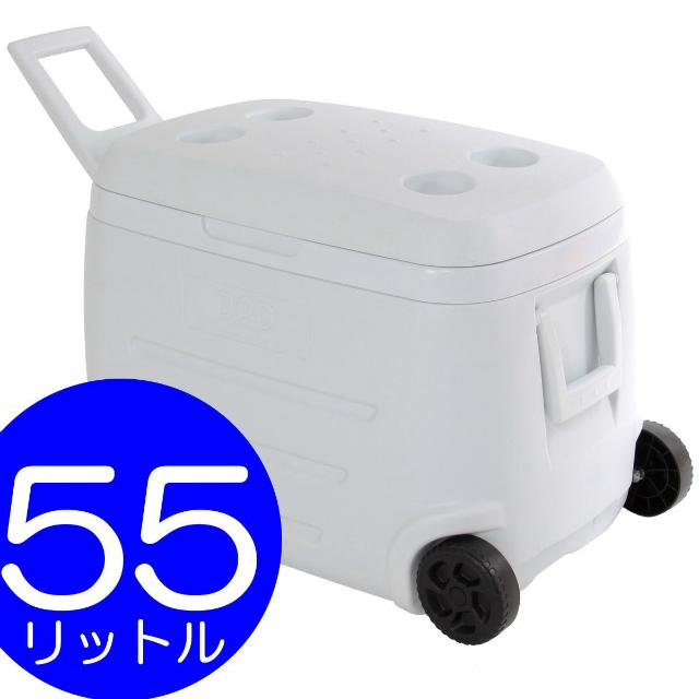 【あす楽】DOPPELGANGER コールドサンダー CL1-464 | 大容量55L | 保冷剤 2個付属 | ホイール付き | ドッペルギャンガー