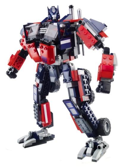 Kre-O クリ・オ  トランスフォーマーオプティマスプライム ブロック組み立てセット Transformers - OPTIMUS WITH TWIN CYCLESKre-O 3in 1 トランスフォーマーのブロック 8歳より・お取寄