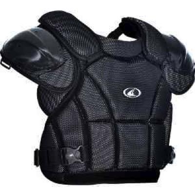 Champro チャンプロ アンパイア用 プロテクター 硬式審判用 Pro-Plus Umpire Chest Protectors Lサイズ 14.5インチ ブラック・お取寄