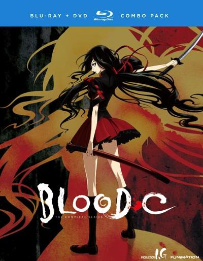 BLOOD-C(ブラッド シー)コンプリートシリーズ ブルーレイとDVDのセット TVアニメ Blood C: Complete Series・お取寄