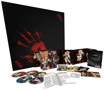 学園黙示録 コレクターズ エディション TVアニメ ブルーレイとDVDのセット High School of the Dead Collectors Edition DVD/BD Boxed Set・お取寄