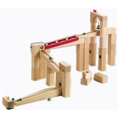 Haba / ハバ社(ドイツ) 積木 組立クーゲルバーン 42ピーズセット・お取寄