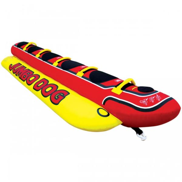 【5人乗り バナナボート】JUMBODOG ジャンボドッグ トーイングチューブ 海 マリンレジャー マリンスポーツ ジェットスキー