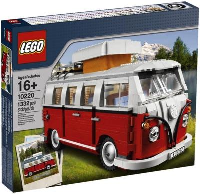 LEGO レゴ クリエイター フォルクスワーゲンT1キャンパーヴァン 10220・お取寄