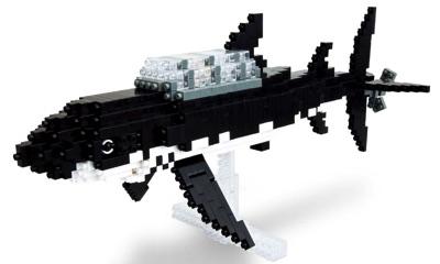 Nanoblock ナノブロック Shark Submarine サメマリン タンタンの冒険・お取寄