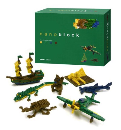 nanoblock ナノブロック Dark Tone Color Set ダークトーンカラーセット NB-003・お取寄