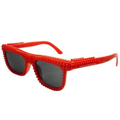 nanoblock ナノブロック sunglasses NAF-2016RE デコれるメガネサングラス レッド 赤・お取寄