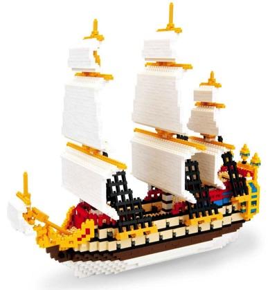 nanoblock ナノブロック The Unicorn ユニコーン号 Tintin タンタンの冒険 帆船・お取寄