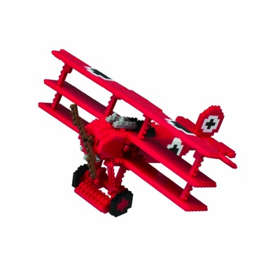 nanoblock ナノブロック Red Baron Triplane レッドバロン三葉機 戦闘機 飛行機・お取寄