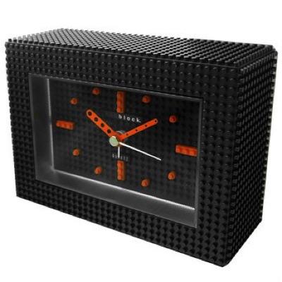 nanoblock ナノブロック Decoration Alarm Clock デコれる目覚まし時計 Black ブラック 黒 NAAC-96902BK・お取寄