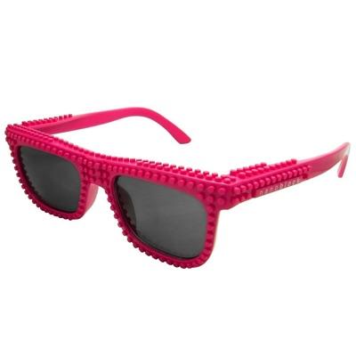 nanoblock ナノブロック sunglasses NAF-2016DP デコれるメガネサングラス ダークピンク・お取寄