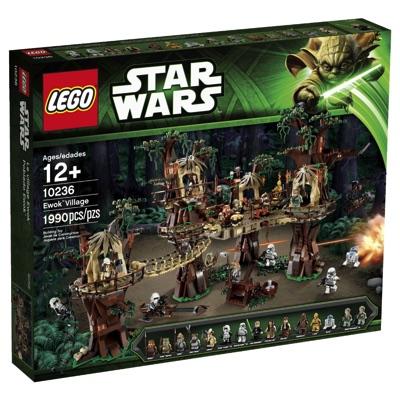 LEGO Star Wars Ewok Village Set 10236 レゴスターウォーズ イウォーク村セット10236・お取寄
