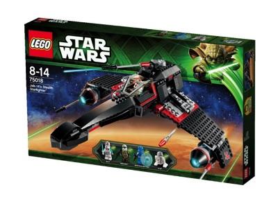 レゴ LEGO スター・ウォーズ JEK-14ステルス・スターファイター 75018・お取寄