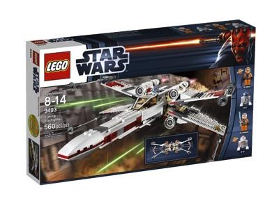 レゴ LEGO スター・ウォーズ X-ウイング・ファイター レッド中隊機 9493・お取寄