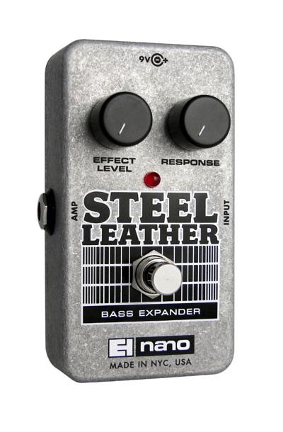 Electro Harmonix エレクトロハーモニクス Steel Leather Bass Expander ベース用エクスパンダー エキスパンダー エキサイター エフェクトペダル エフェクター・お取寄