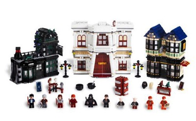 LEGO (レゴ) Harry Potter Diagon Alley ハリーポッター ダイアゴン横丁・お取寄