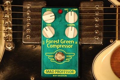 Mad Professor マッドプロフェッサー Forest Green Compressor PCB コンプレッサー ギター用エフェクトペダル エフェクター・お取寄