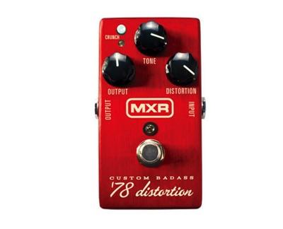 MXR エムエックスアール Custom Badass '78 Distortion カスタムバダス M78 ディストーションペダル ギター用エフェクター・お取寄