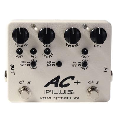 【本物新品保証】 Xotic ペダル エキゾチック Xotic AC+ Plus ACプラス オーバードライブ ペダル Plus ギター用エフェクター・お取寄, 蓮田市:8d43cf66 --- supercanaltv.zonalivresh.dominiotemporario.com