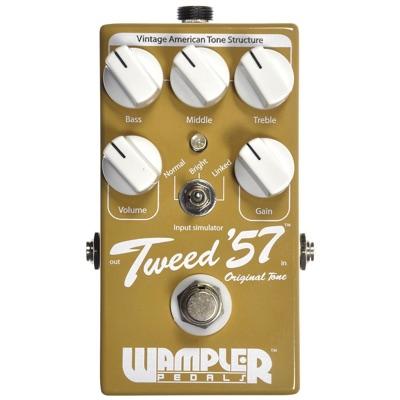 憧れ Wampler ワンプラー Tweed '57 Tweed Wampler Overdrive ツイード オーバードライブペダル '57 エフェクター・お取寄, TWO CREW:f701cd14 --- construart30.dominiotemporario.com