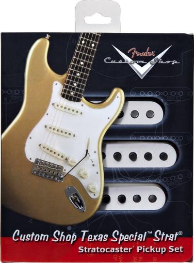 Fender フェンダー Custom Shop Texas Special Strat Picup Set カスタムショップ テキサススペシャル ストラトキャスター ピックアップセット・お取寄