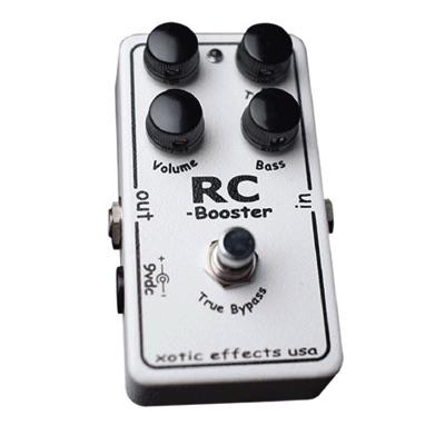 Xotic エキゾチック RC Booster Guitar Pedal クリーンブースター ペダル ギター用エフェクター・お取寄