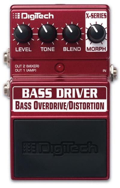Digitech デジテック XBD Bass Driver Bass Overdrive Distortion Pedal ベースドライバー ベースオーバードライブディストーションペダル・お取寄