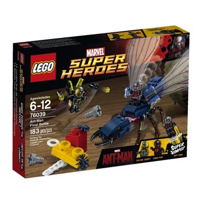 レゴ スーパー ヒーローズ アントマン ファイナルバトル 76039 LEGO Superheroes Marvel's Ant-Man 76039 Building Kit・お取寄