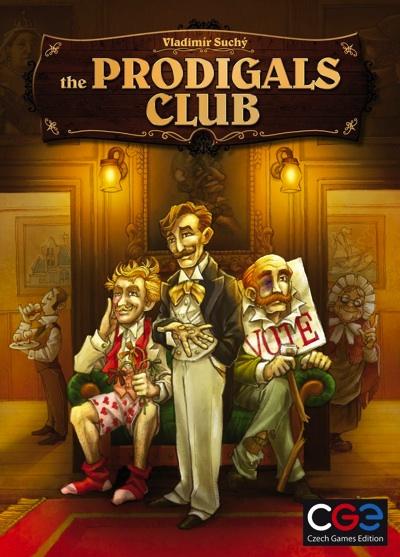 プロディガル クラブ Prodigals Club 浪費家クラブ Board Game ボードゲーム テーブルゲーム・お取寄