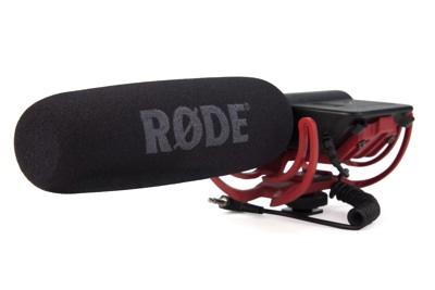 ローデ ビデオマイク ショットガン マイクロフォン (モデル:VIDEOMICR) Rode Videomic Shotgun Microphone with Rycote Lyre Mount (Model: VIDEOMICR)・お取寄