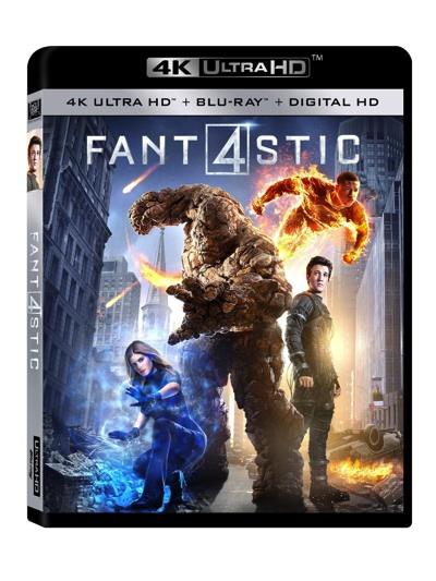 ファンタスティック・フォー Fantastic Four (2015) 4K ブルーレイディスク・お取寄