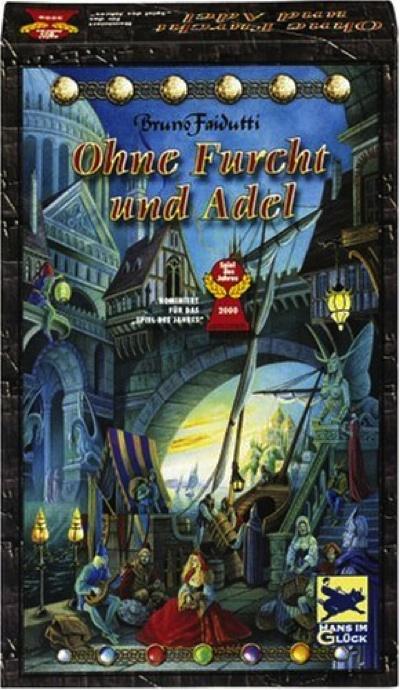 あやつり人形 カードゲーム ドイツ製 Ohne Furcht und Adel [German Version] by Schmidt Spiele・お取寄