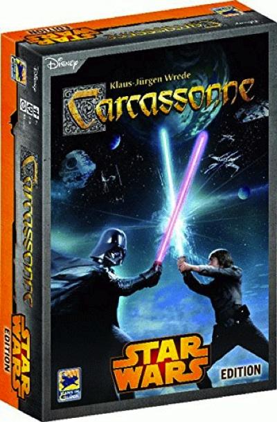 カルカソンヌ スターウォーズ・エディション Star Wars, Carcassonne ボードゲーム テーブルゲーム・お取寄