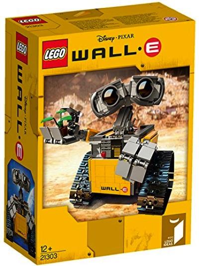 レゴ アイデア ウォーリー 21303 LEGO Ideas WALL E 21303 Building Kit・お取寄