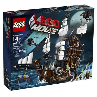 レゴ ムービー メタルひげの海牛海賊船 70810 LEGO Movie 70810 Metal Beard's Sea Cow・お取寄