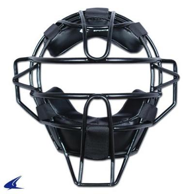 チャンプロ 審判用 マスク (黒、約765グラム/大人用) Champro Catcher's Mask (Black, 27-Ounce/Adult)・お取寄
