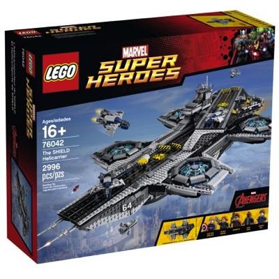 LEGO レゴ スーパーヒーローズ ザシールドヘリキャリア 76042 Superheroes The Shield Helicarrier レゴブロック 組立キット・お取寄
