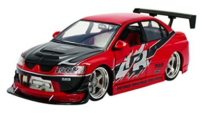 Jada 三菱 ランサーエボリューション VIII 1/18スケール Fast & Furious Sean's Mitsubishi Lancer Evolution VIII ランエボ・お取寄