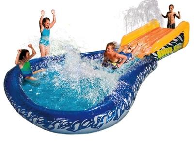 バンザイ キャノンボール スプラッシュウォータースライドプール ビニールプール Banzai Cannonball Splash Water Slide・お取寄