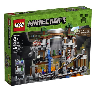 LEGO レゴ マインクラフト 21118 鉱山 Minecraft The Mine レゴブロック・お取寄