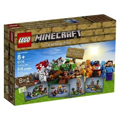 LEGO レゴ マインクラフト 21116 クラフトボックス Minecraft Crafting Box レゴブロック・お取寄