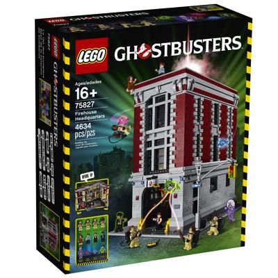 レゴ ゴーストバスターズ HQ(消防署本部)LEGO Ghostbusters 75827 Firehouse Headquarters Building Kit (4634 Piece)・お取寄