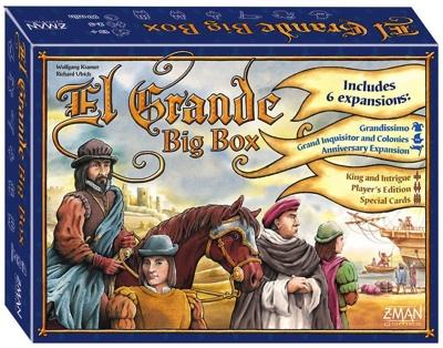 お気にいる エル グランデ ビッグ Grande ボックス Box・お取寄 ボードゲーム El Grande エル Big Box・お取寄, ゴセシ:78ab9b4c --- canoncity.azurewebsites.net