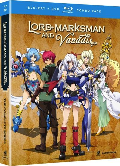 魔弾の王と戦姫 コンプリートシリーズ ブルーレイ・DVD Lord Marksman and Vanadis The Complete Series Blu-ray + DVD TVアニメ・お取寄